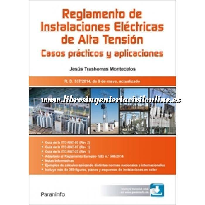 Imagen Instalaciones eléctricas de alta tensión RAT.Reglamento de Instalaciones Eléctricas de Alta Tensión. Casos prácticos y aplicaciones