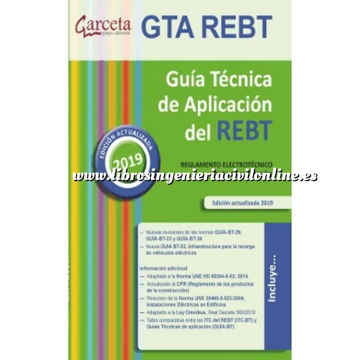 Imagen Instalaciones eléctricas de baja tensión Guia Tecnica REBT 2019. Guía Técnica de aplicación del REBT