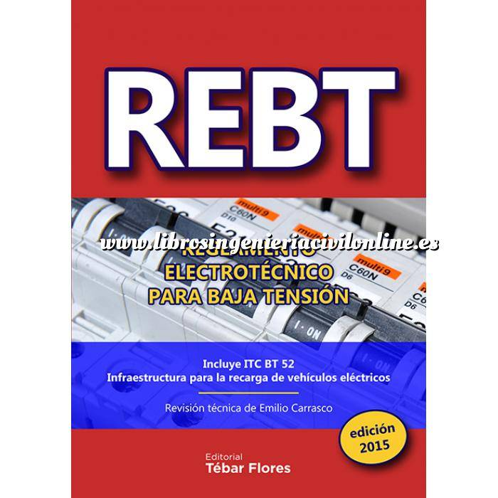 Imagen Instalaciones eléctricas de baja tensión REBT Reglamento Electrotécnico para Baja Tensión