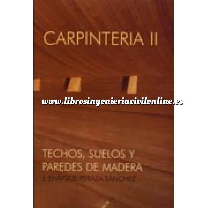Imagen Madera Carpintería 2. techos, suelos y paredes de madera