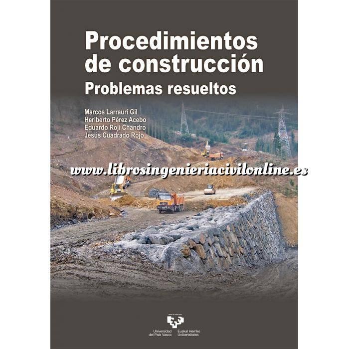 Imagen Maquinaria de obras publicas Procedimientos de construcción. Problemas resueltos