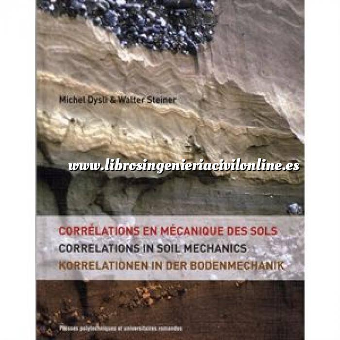 Imagen Mecánica del suelo Corrélations en mécanique des sols,correlations in soil mechanics,korrelationen in der bodenmechanik