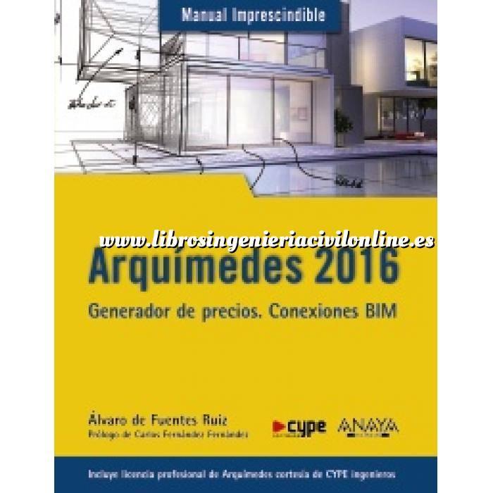 Imagen Mediciones, presupuestación y cuadros de precios Arquímedes 2016.Generacion de precios.Conexiones BIM