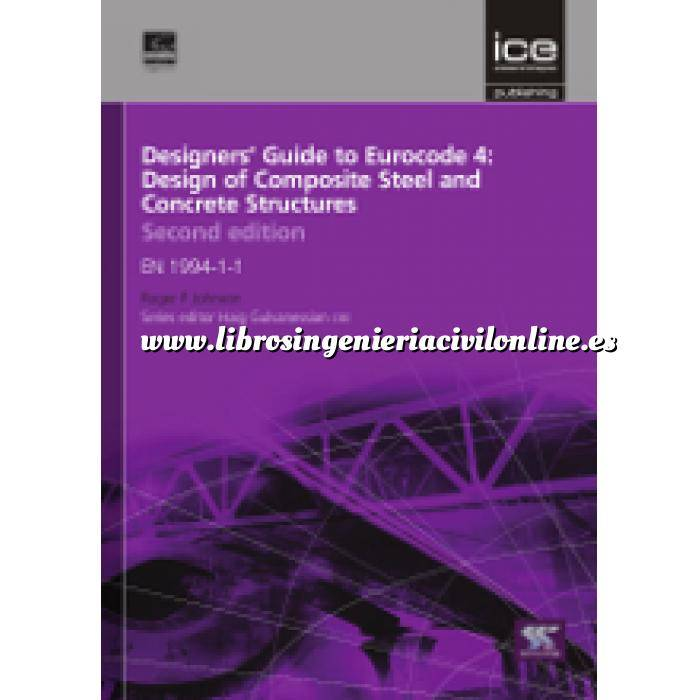 Imagen Normas UNE y eurocódigo Designers' Guide to Eurocode 4: Design of composite steel and concrete structures
