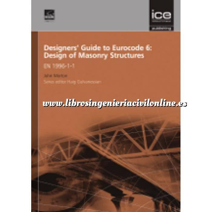 Imagen Normas UNE y eurocódigo Designers' Guide to Eurocode 6: Design of Masonry Structures