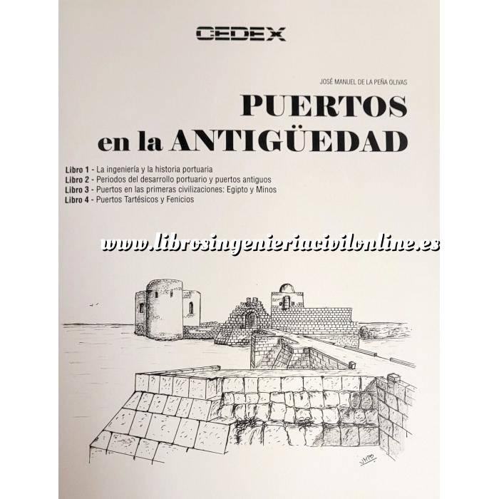 Imagen Puertos y costas PUERTOS EN LA ANTIGuEDAD - 3 Vol. ( Incluye libros 1 a 7 )
