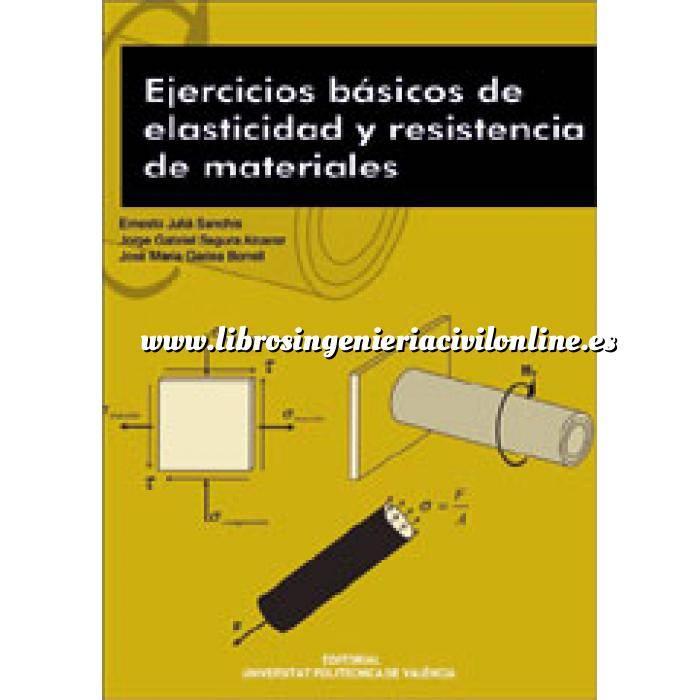 Imagen Resistencia de materiales Ejercicios básicos de elasticidad y resistencia de materiales