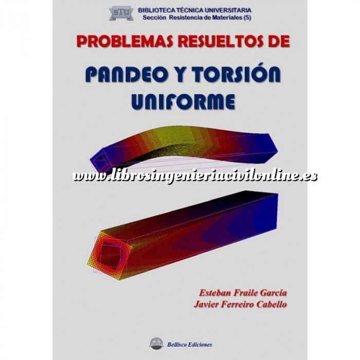 Imagen Resistencia de materiales Problemas resueltos de pandeo y torsion uniforme