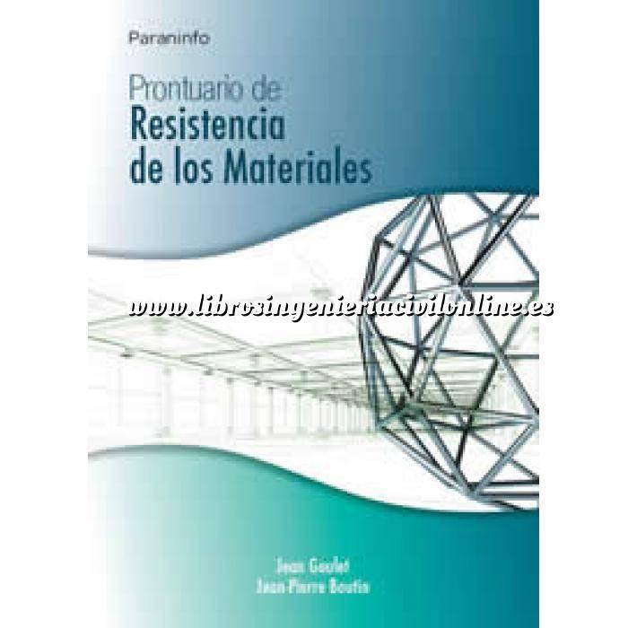 Imagen Resistencia de materiales Prontuario de resistencia de los materiales