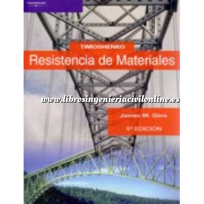 Imagen Resistencia de materiales Timoshenko. Resistencia de materiales