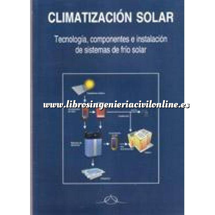 Imagen Solar fotovoltaica Climatización solar Tecnología,componentes e instalación de sistemas de frío solar.
