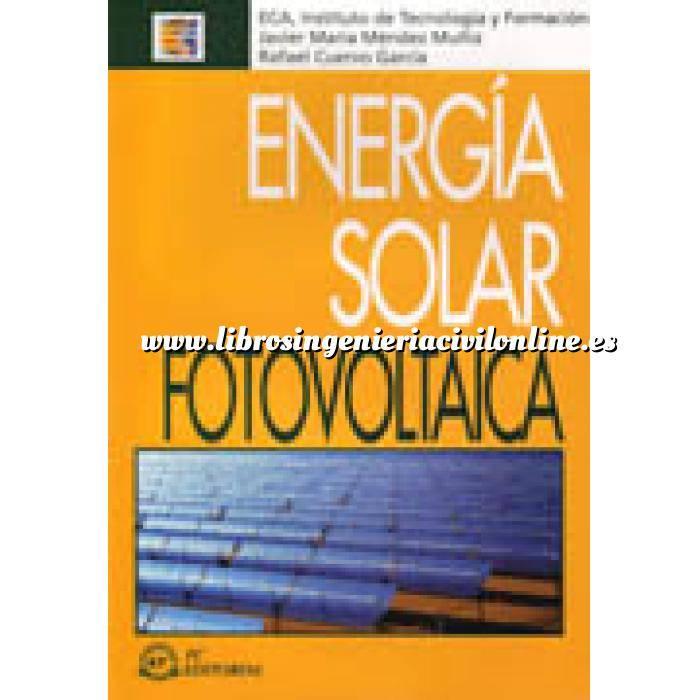 Imagen Solar fotovoltaica Energía Solar Fotovoltaica.