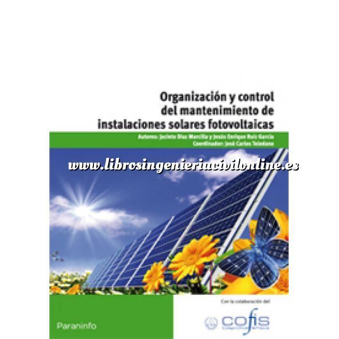 Imagen Solar fotovoltaica Organización y control del mantenimiento de instalaciones solares fotovoltaicas