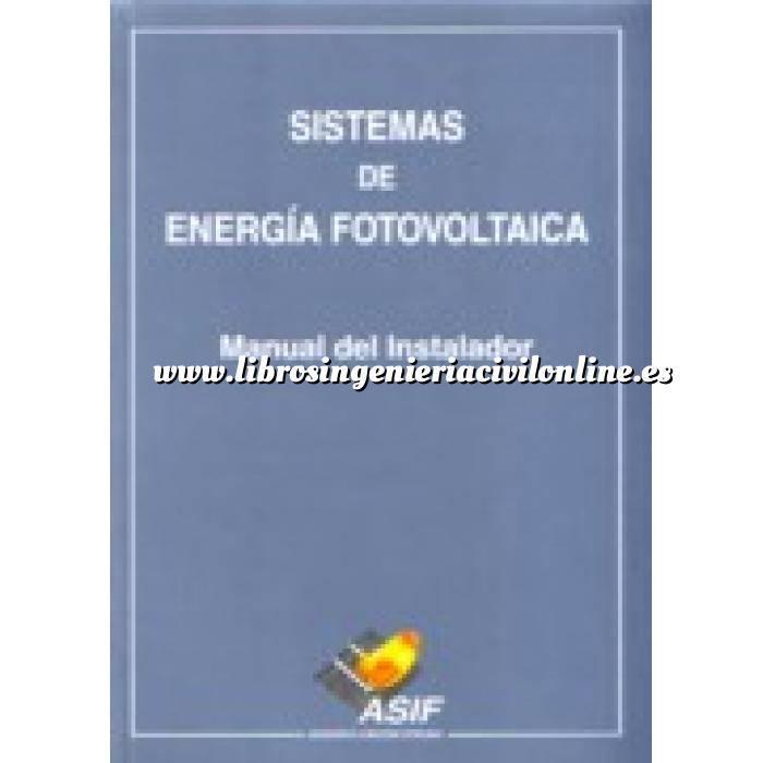 Imagen Solar fotovoltaica Sistemas de energía fotovoltaica. manual del instalador