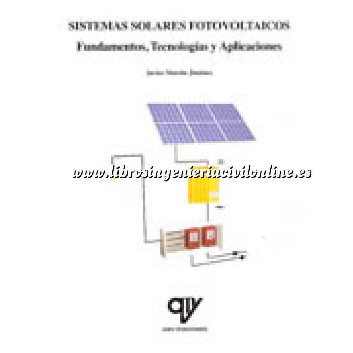 Imagen Solar fotovoltaica Sistemas solares y fotovoltaicos. Fundamentos,tecnología y aplicaciones