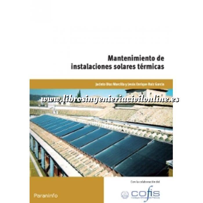 Imagen Solar térmica Mantenimiento de instalaciones solares térmicas