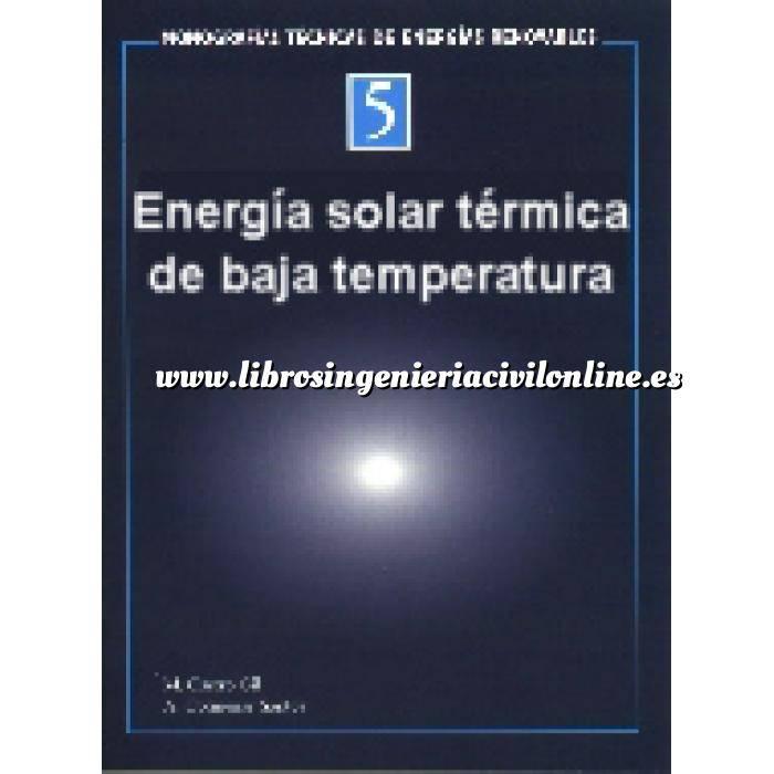 Imagen Solar térmica Monografías técnicas de energías renovables. Energía solar térmica de baja temperatura