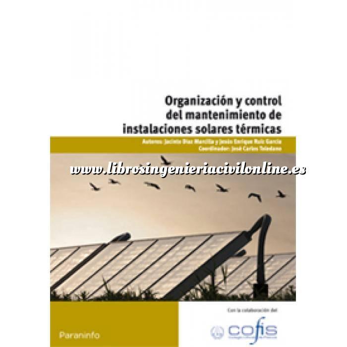 Imagen Solar térmica Organización y control del mantenimiento de instalaciones solares térmicas