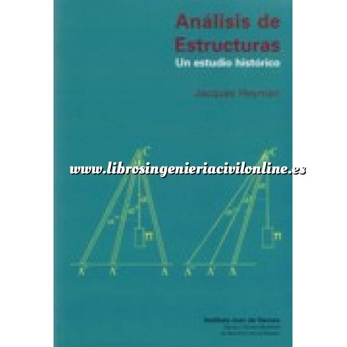 Imagen Teoría de estructuras Análisis de estructuras. Un estudio histórico