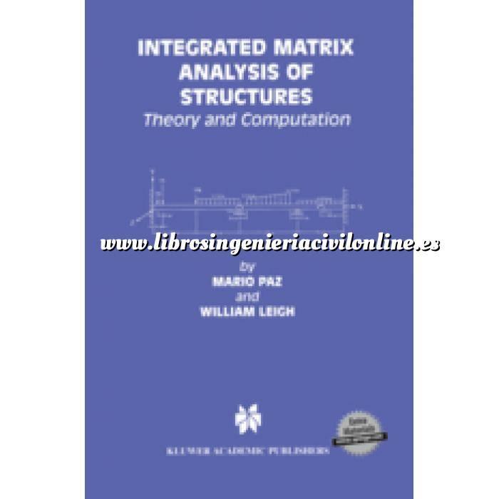 Imagen Teoría de estructuras Integrated Matrix Analysis of Structures.Theory and Computation