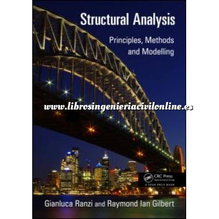 Imagen Teoría de estructuras Structural Analysis.Principles, Methods and Modelling
