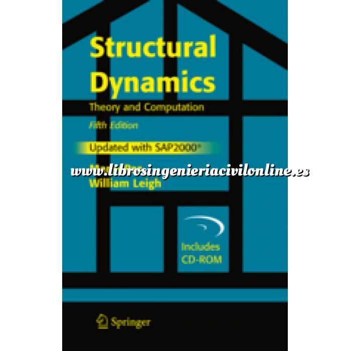 Imagen Teoría de estructuras Structural Dynamics.Theory and Computation