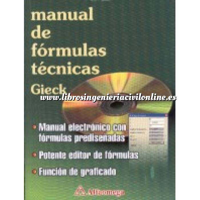Imagen Tratados Manual de fórmulas técnicas