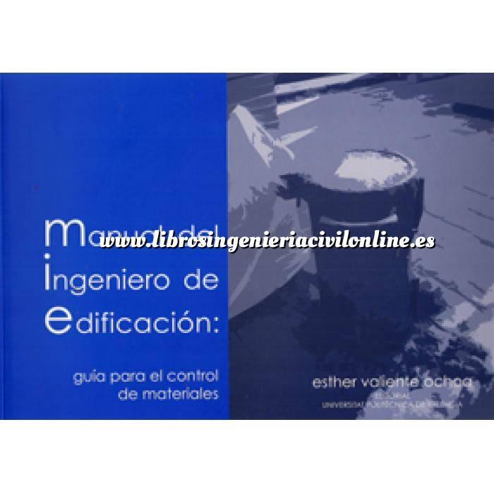 Imagen Tratados Manual del ingeniero de edificación : guía para el control de materiales