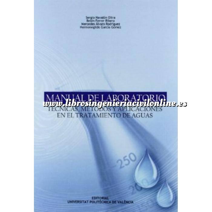 Imagen Tratamiento y depuración de aguas Manual de laboratorio. Técnicas, métodos y aplicaciones en el tratamiento de aguas