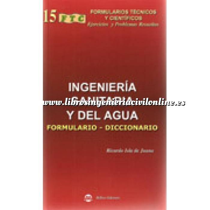 Imagen Tuberías Ingenieria sanitaria y del agua. formulario-diccionario