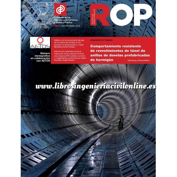Imagen Túneles y obras subterráneas Revista de obras públicas ( ROP ). Monografico especial Tuneles