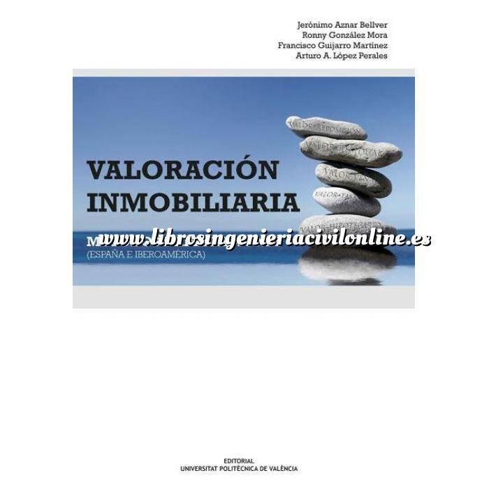 Imagen Valoraciones inmobiliarias Valoración inmobiliaria. Metodos y aplicaciones. España e Iberoamerica