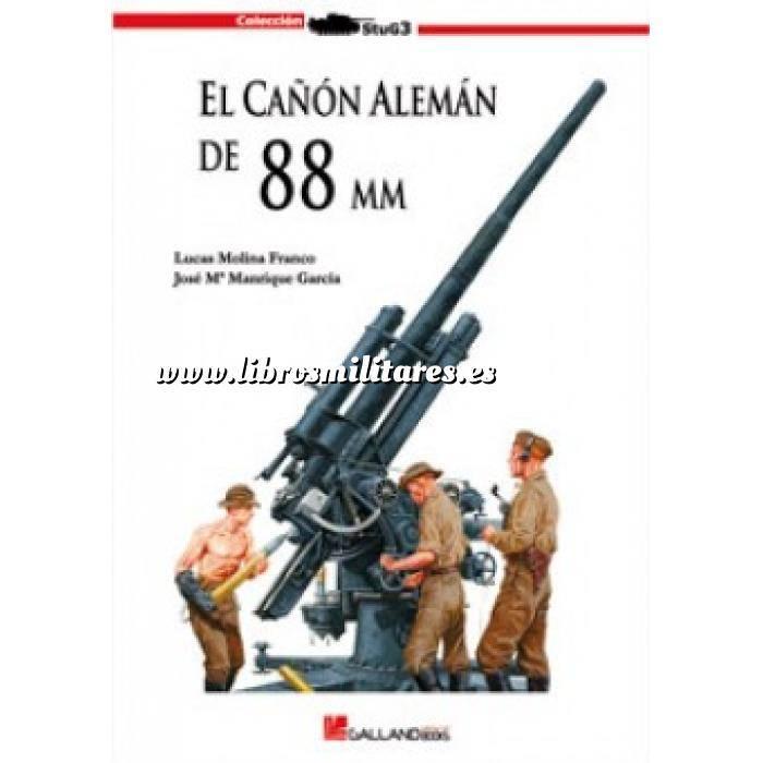 Imagen Armamento militar El cañón alemán de 88 mm