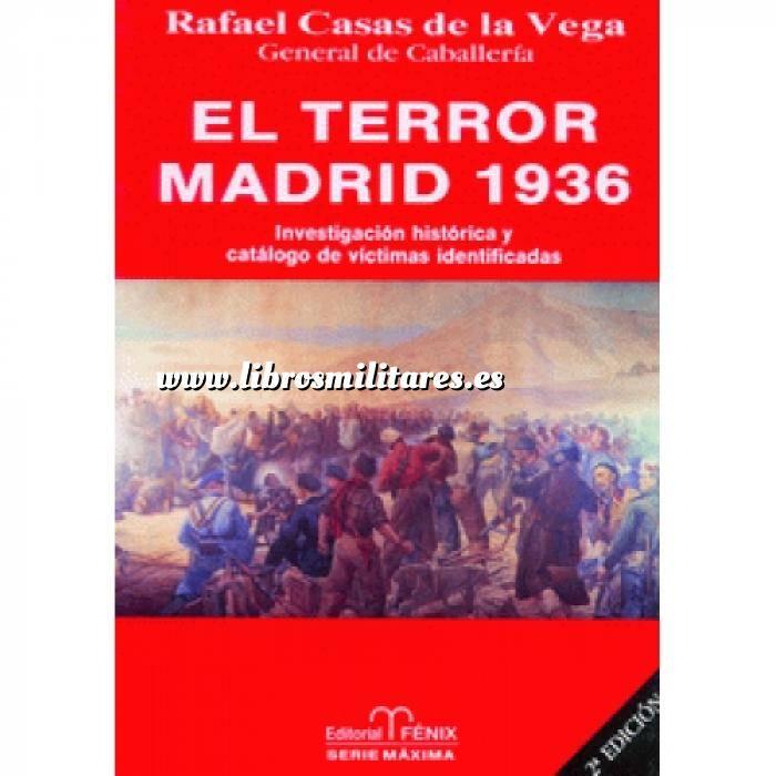 Imagen Guerra civil española El terror: Madrid 1936. Investigación histórica y catálogo de víctimas identificadas