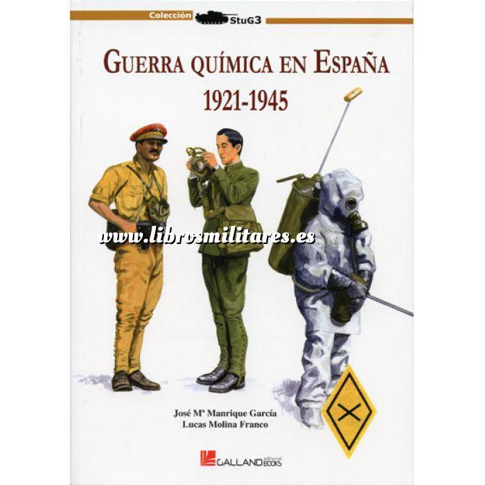 Imagen Guerra civil española Guerra química en España 1912-1945