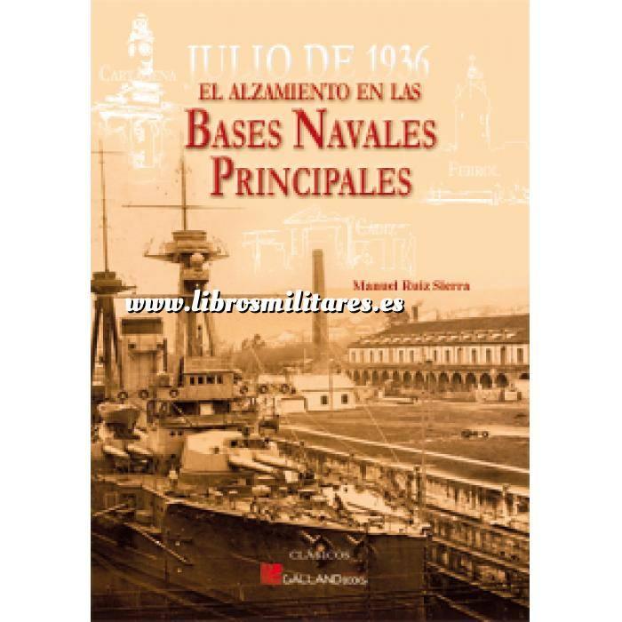 Imagen Guerra civil española Julio 1936. Bases Navales Principales