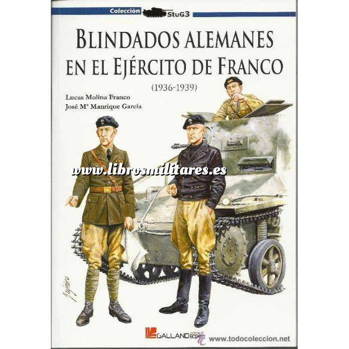 Imagen Medios blindados Blindados alemanes en el ejército de Franco