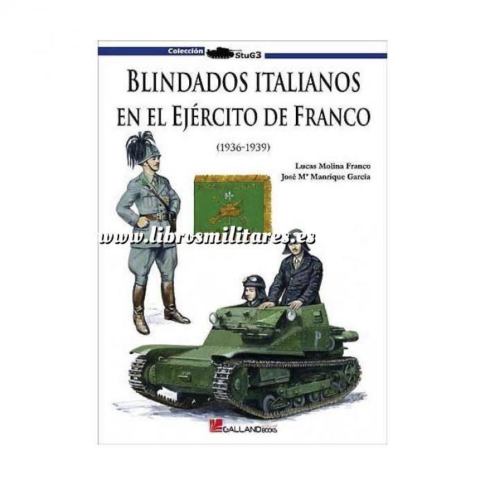 Imagen Medios blindados Blindados italianos en el Ejército de Franco