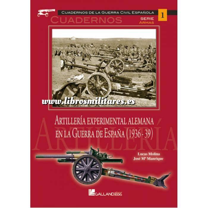 Imagen Segunda guerra mundial Artillería experimental alemana en la guerra de España (1936-39)