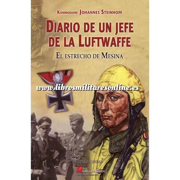 Imagen Aviación militar  Diario de un jefe de la Luftwaffe. El estrecho de Mesina