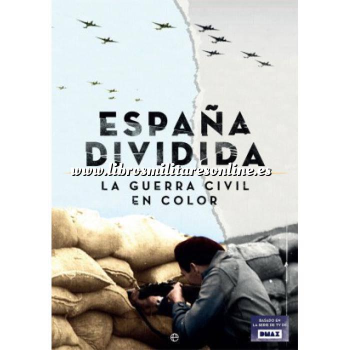 Imagen Guerra civil española España dividida.La guerra civil en color