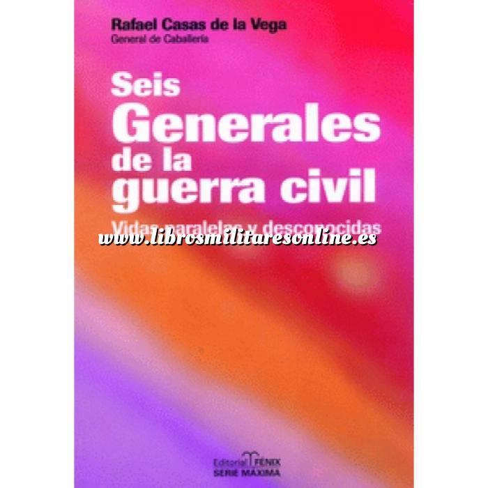 Imagen Guerra civil española Seis generales de la guerra civil