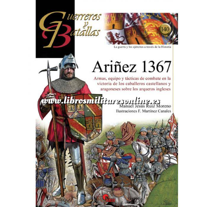 Imagen Guerreros y batallas Guerreros y Batallas nº140 Ariñez 1367 Armas,equipo y tácticas de combate