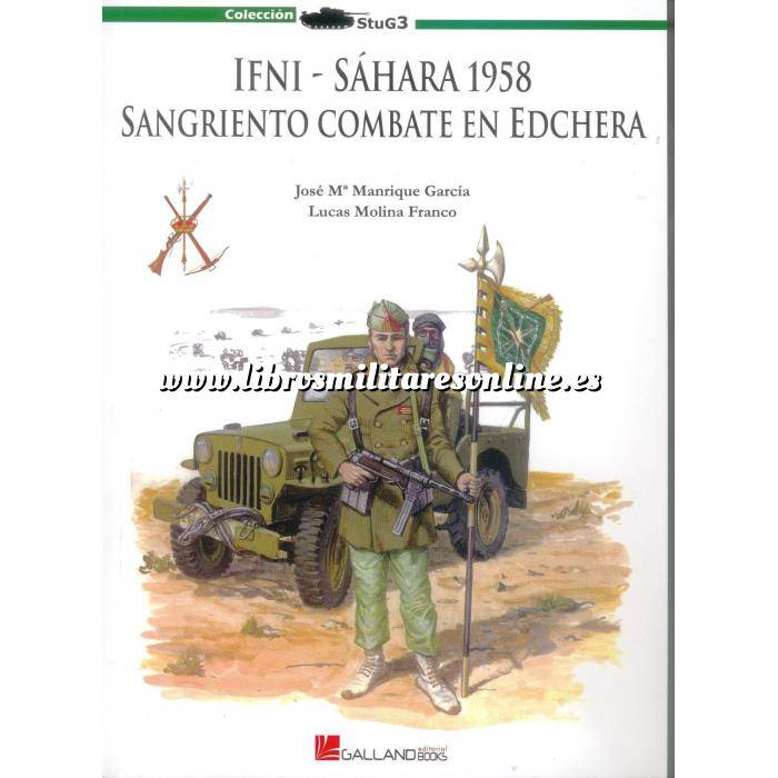Imagen Ifni y Sahara marruecos IFNI, Sahara 1958, sangriento combate en Edchera