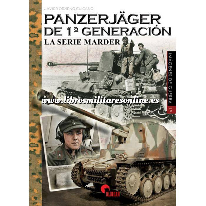 Imagen Medios blindados Panzerjäger de 1ª generación. La serie Marder