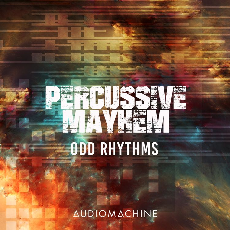 Percussive Mayhem: Odd Rhythms packshot