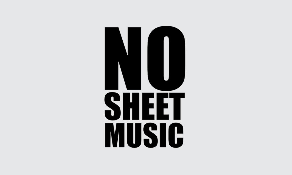 No Sheet Music packshot