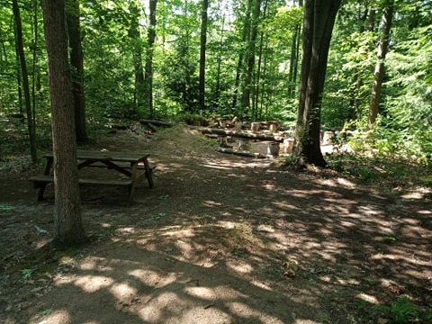site 34 primitive camping