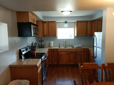 Duplex East large kitchen