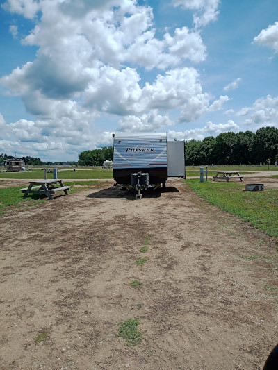 Plenty of room for travel trailers too!